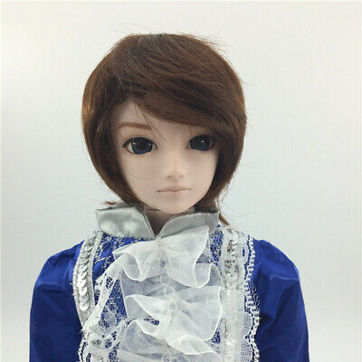 Stylish Short Hair Wig Hairpiece for 1/6 BJD SD AS DZ LUTS DOC DOD Dolls