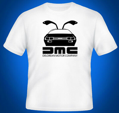 Back To The Future DeLorean DMC Movie Inspired Mens T-Shirt Top