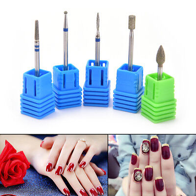 Electric Nail Drill Cutter Pedicure Electric Manicure Drill Accessory Nail Tool&