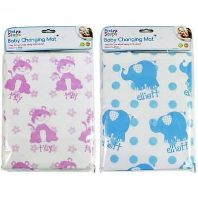 Baby Travel Changing Mat Folding Portable Diaper Wipe Clean Waterproof Home Away