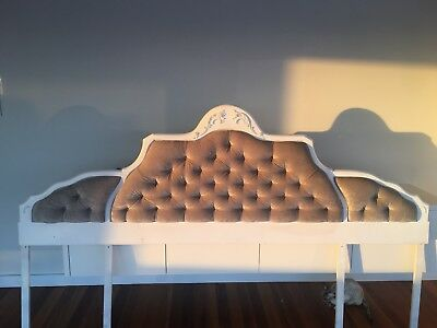 French Provincial Bed Head