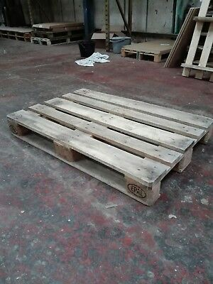 Wooden Euro Pallets 1200x800mm