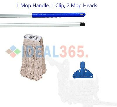 Blue Kentucky Mop Set Complete with Extra Mop Head, FREE NEXT DAY DELIVERY