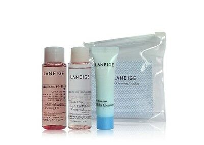 Laneige Cleansing Trial Kit 3Items Make up Cleanser  Set  Free Gift K Beauty