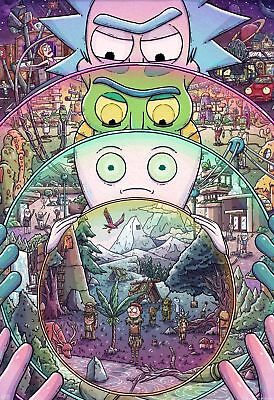 Rick and Morty   Poster Print - A2 A3 A4 A5
