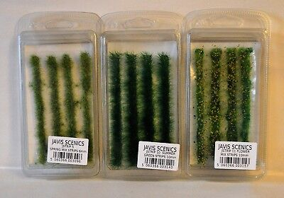 Javis JSTRIP Static Grass Strips 6mm and 10mm Model Rail, Dioramas Scenics