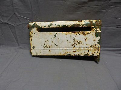 """Antique Hot Water Base Board Heat 12"""" Section Cast Iron Old Vtg Base Ray 371-18P"""