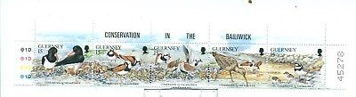 Uccelli: Serie completa Guernsey (Nuovi) MNH 1991