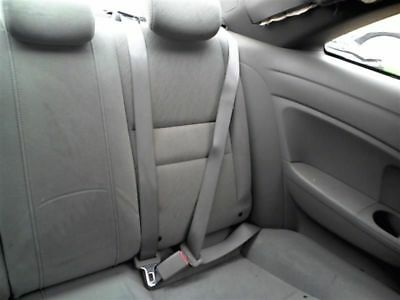 2007 07 Honda Civic coupe 2dr Rear Seat Belt driver left gray 35359
