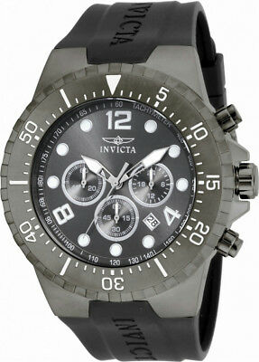 Invicta Specialty 16750 Men's Round Gray Analog Chronograph Date Watch
