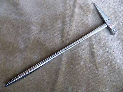 Antique Silver Plated Barristers Hammer Seal Pick Elkington