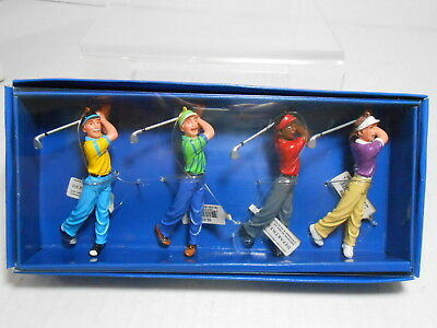 DEPARTMENT 56 Sunny Greens Golfers Ornaments MIB NWT