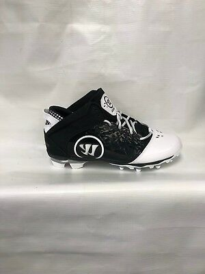Warrior Adonis Cleat Adult Sizes Black/White NEW IN BOX