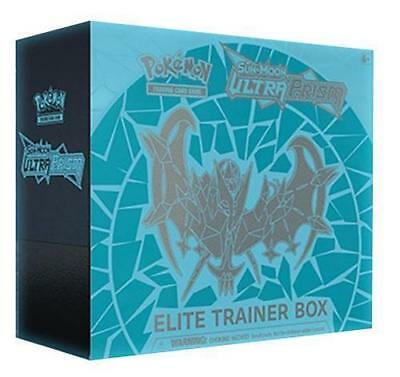 Pokemon TCG Ultra Prism Elite Trainer Box Dawn Wings Necrozma Sun & Moon Cards