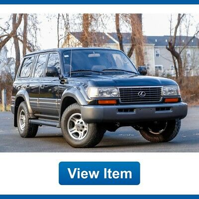 1997 Lexus LX Base Sport Utility 4-Door 1997 Lexus LX 450 192K mi Fully Serviced Loaded FJ80 CARFAX Land Cruiser