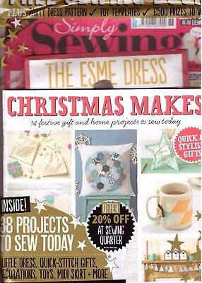 Simply Sewing Magazine - Issue 36 - 2017