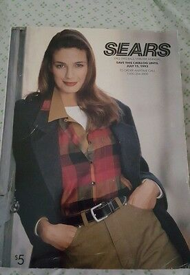 Vintage Sears 1992-1993 Fall / Winter Annual Catalog