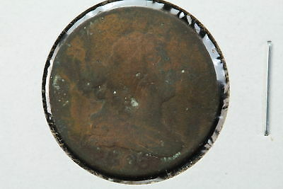 1806 Half Cent Punched