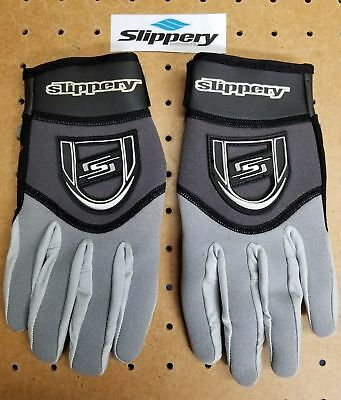Slippery Reform Glove Mens XS Gry/Blk Anti-Slip Sports Jet-Ski New