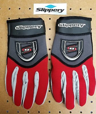 Slippery Reform Glove Mens S Red/Blk Anti-Slip Sports Jet-Ski New