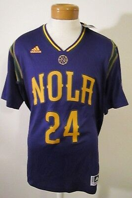 3057273c449 NWT Adidas Buddy Hield New Orleans Pelicans Mens Swingman Jersey XL Purple   110