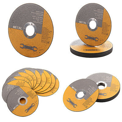 "Metal Cutting Discs 10x 115mm 4.5"" Angle Grinder Cut Ultra thin Stainless Steel"