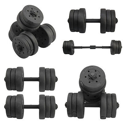 20kg Dumbbells Set Weights Gym Fitness/ Workout/ Weight Lifting Biceps Training