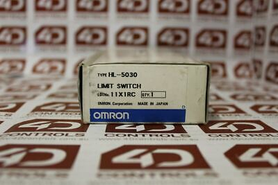 Omron HL-5030 Limit Switch - New Surplus Open