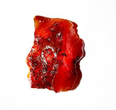 GGL Certified 79.00 Cts.100 % Natural Mineral Specimen Carnelian Rough Gemstone