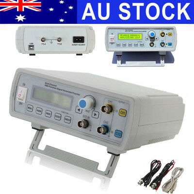 AU 2MHz Channel DDS Signal Function Generator Sine Square Wave Sweep & Counter