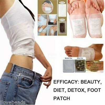 2PCs Detox Foot Pads Remove Weight Loss Stress Relief Anti-fatigue Foot Patch