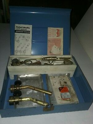 VINTAGE BENZ-O-MATIC TORCH KIT with extra torches and other things