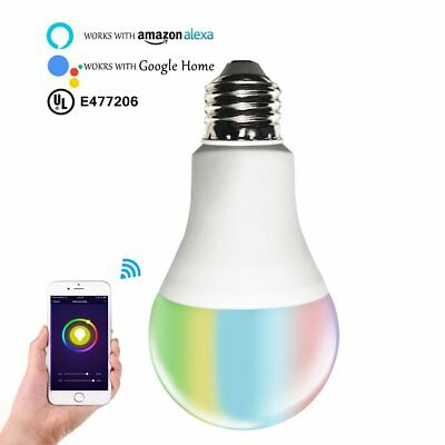 Smart RGBW Tunable Warm White  Color LED Bulbs(6.5W), Cxy WiFi APP-Smartphone