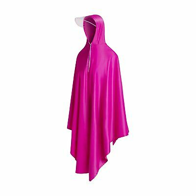 Long Rain Poncho, Reusable Raincoat For Men Women With Hood, One Size Fits All