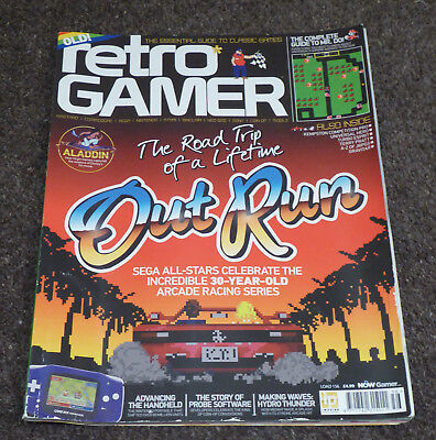 Retro Gamer Magazine - Issue 156 - Out Run - Used Good Condition
