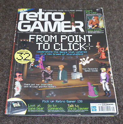 Retro Gamer Magazine - Issue 138 - Point and Click Advent - Used Good Condition