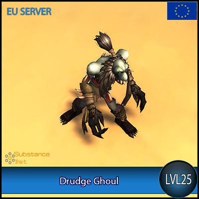 Drudge Ghoul lvl25 Pet ✯ All Europe Server ✯ WoW