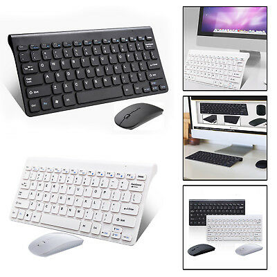 PC Computer Wireless Tastatur Maus-Set Keyboard English kabellos neu
