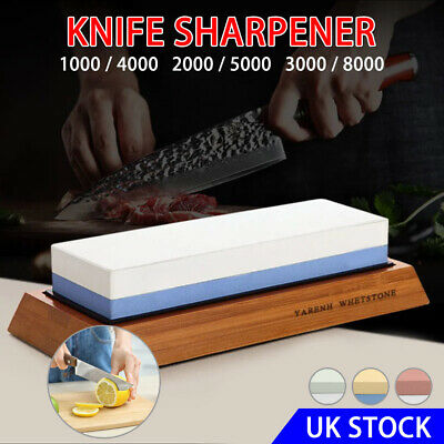 Knife Grit Sharpening Sharpeners Water Stone Dual Whetstone 3000/8000 1000/4000