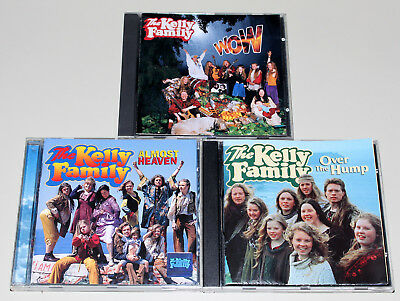 3 Cd Sammlung - The Kelly Family - Over The Hump Almost Heaven Wow
