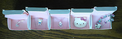 AVON HELLO KITTY New Boxed Assorted Jewellery Lot of 5