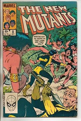 *** Marvel Comics New Mutants #8 Vf ***