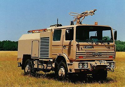 French Air Force Renault/Sides Rapid Intervention Vehicle - POSTCARD