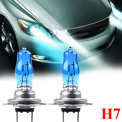 Lot H7 12V 55W Xenon White 6000k Halogen Blue Car Head Light Lamp Globes / Bulbs