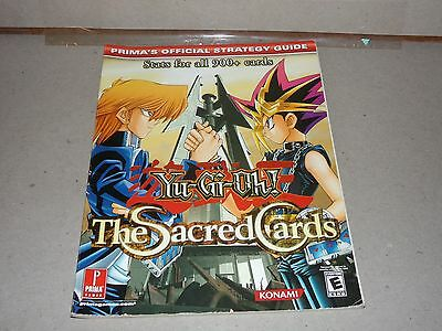 Yu-Gi-Oh! The Sacred Cards (Prima's Official Strategy Guide)