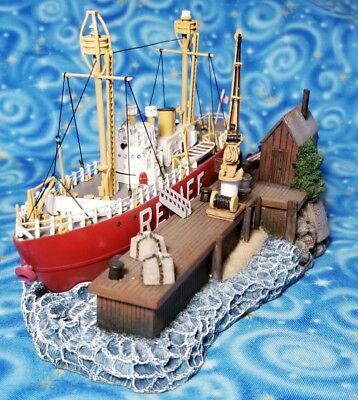 Lightship Relief Anchor Bay Harbour Lights 2004 Regional Event Exclusive #672