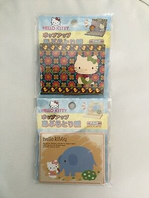 New 2 Hello Kitty 50 Sheets Make Up Oil Absorbing Face Paper Pop Up Free Ship