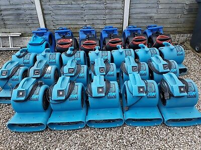 Drieaz Sarah Pro Turbo Dryer Industrial Blower Air Mover Snail Fan - 30 Units.