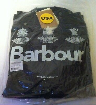 New Barbour Mens Bedale Jacket Size 48 Item #A322 waxed cotton jacket coat