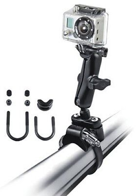RAM Mount Roll Bar Mount Strap/U-Bolt Clamps 1 In Ball Custom GoPro Hero Adapter